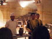 トルコ洞窟レストラン