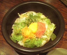 20090920-7明太子の石焼ご飯-2