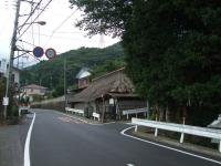 大山への道2古い家