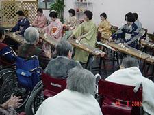 《訪問演奏》京都老人ホーム(京都市)