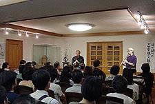 大文字送り火鑑賞会3