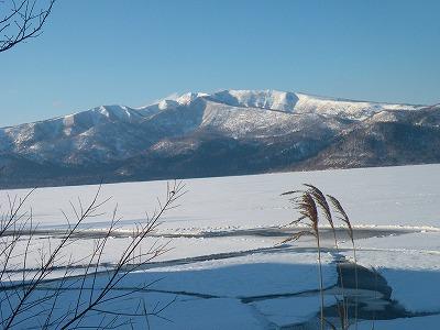 2月17日の屈斜路湖