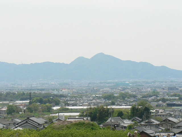 山之辺の道09二上山