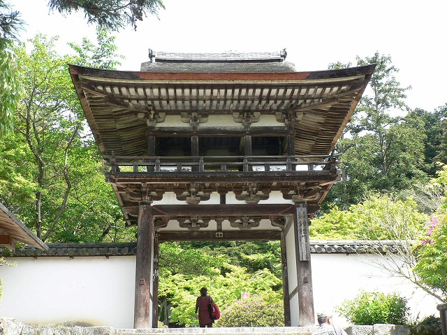 山之辺の道08長岳寺