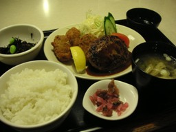 一月に食べた夕ご飯