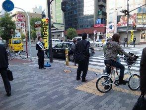 091116森ノ宮駅前