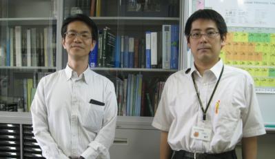 冨永先生の研究室にて