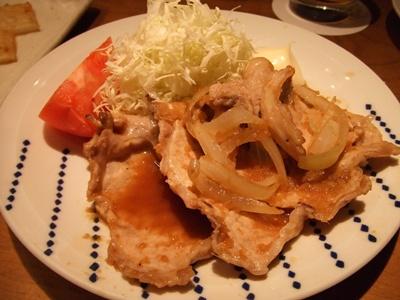寅福 豚生姜焼き