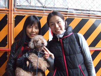 涼子先生とパチリ