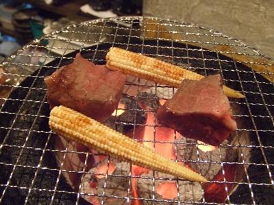 小野田商店 焼き中アップ