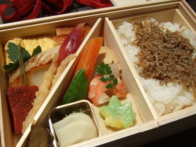 菊乃井のお弁当