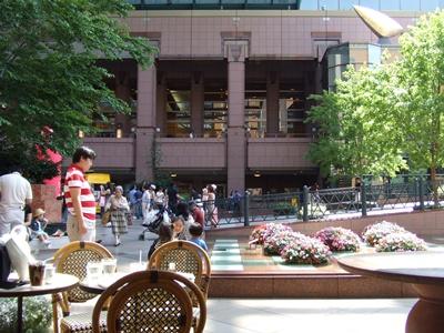 恵比寿ガーデンプレイス パパスカフェ テラス席