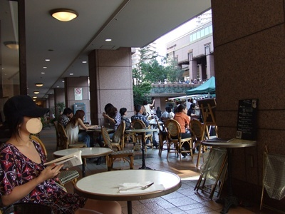 恵比寿ガーデンプレイス パパスカフェ