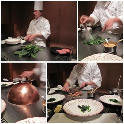 鉄板焼 馨 (KAORU かおる) 金目鯛