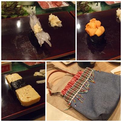 橘すし お寿司たち
