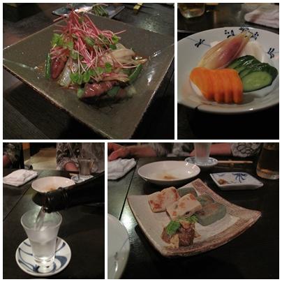 麻布 川上庵 お料理2