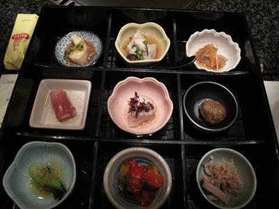 鉄板焼 馨 (KAORU かおる) 前菜盛り合わせ