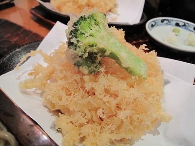 驀仙坊 (ばくざんぼう) 天ぷらアップ