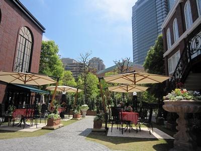 MLB café TOKYO カフェスペース テラス席