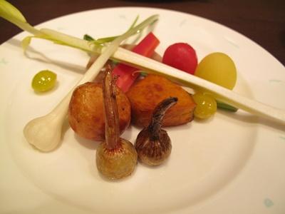 茶々丸  野菜の盛り合わせ