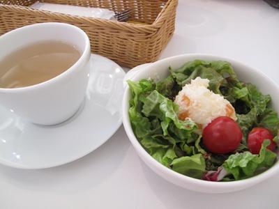 ribbon cafe(リボンカフェ)  サラダ付