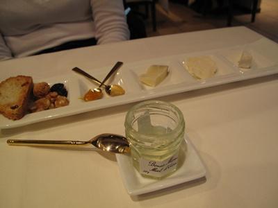 リストランテ・ダ・ニーノ チーズの盛り合わせ