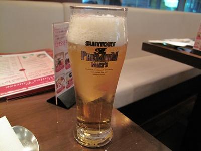 バンコクキッチン自由が丘店 ビール