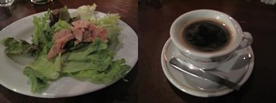 SUMIYA サラダ、コーヒー付き