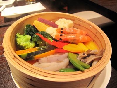 恵比寿小籠包 陽炎 KAGEROU 海老と蒸し野菜