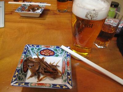与志田そば ビール