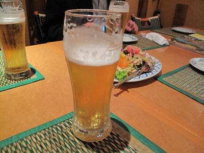 チャオタイ道玄坂店 ビール
