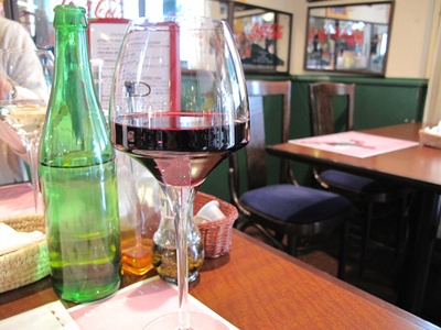 Cafe Restaurant Zagara(カフェレストラン・ザガラ ) グラスワイン