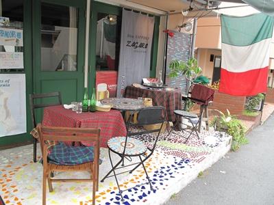 Cafe Restaurant Zagara(カフェレストラン・ザガラ ) テラス席