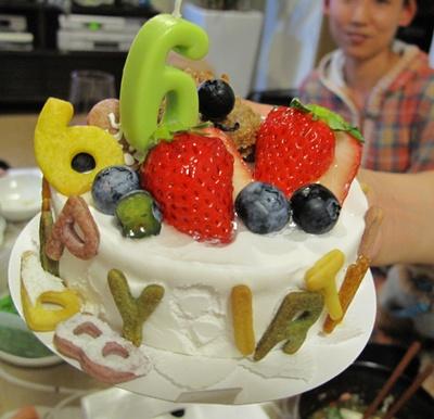 優くんのケーキ