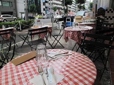 Pizzeria e trattoria da ISA (ピッツエリア エ トラットリア ダ イーサ) テラス席