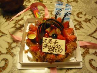 ママンのバースデーケーキ