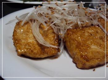 照り焼き豆腐 2