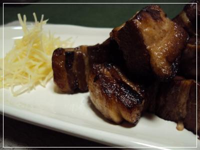 豚角煮焼き 2