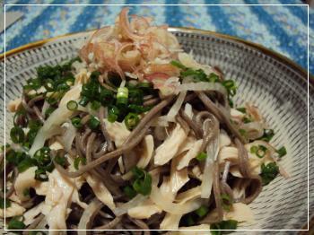 蕎麦サラダ 2