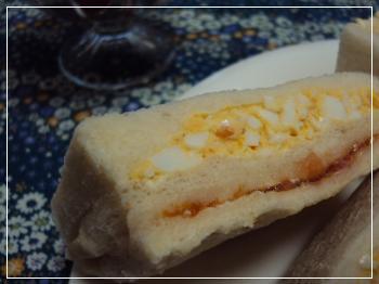 卵・トマトサンド 2