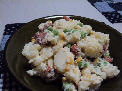 ポテト枝豆サラダ