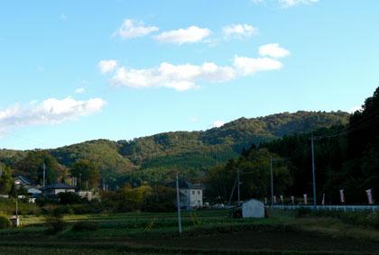 益子陶器市 山里の風景