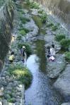 浦上川 いつまでも子供の楽しそうな声でいっぱいであってほしい