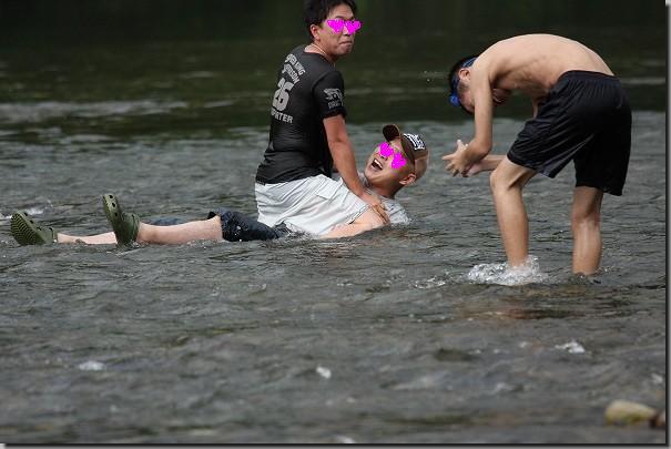 川遊び'10 431
