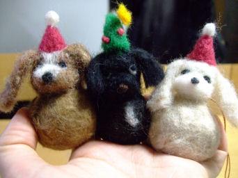 クリスマス羊毛