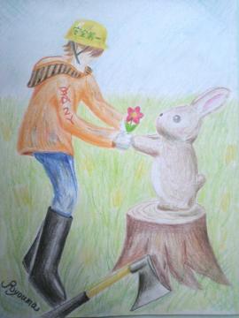 綾馬さん_rabbit
