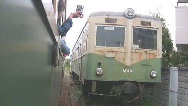 紀州鉄道キハ603 最終列車.avi_00013 ろくゼロ4