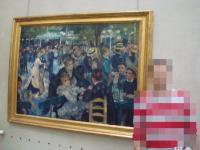 「ムーラン・ド・ラ・ガレットの舞踏会」ルノワール