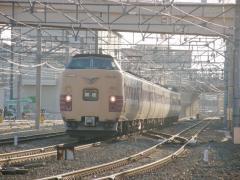 381系回送2010年2月21日1