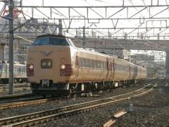 381系回送2010年2月21日2